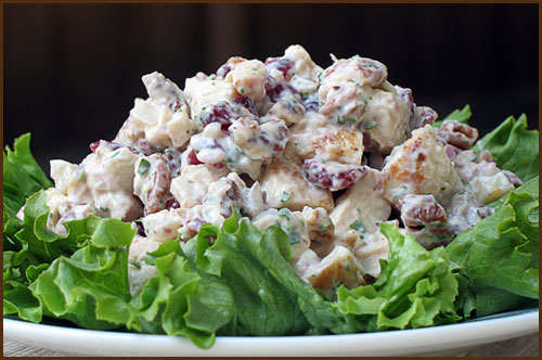 Chiicken Salad with Yogurt